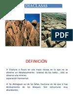 CLASES DE DIACLASAS