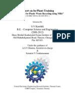CEERI Plastic Sorter Report Partial