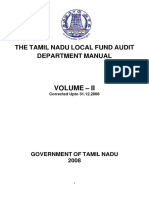 Local Fund Audit Depart Manual Vol - II