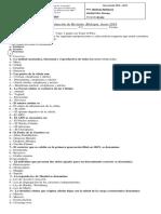 Ev.revision Biologia 3er Año Junio 2019 ABC