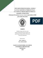 ANALISIS PENGARUH STRUKTUR MODAL, UKURAN PERUSAHAAN DAN LIKUIDITAS TERHADAP NILAI PERUSAHAAN DENGAN PROFITABILITAS SEBAGAI VARIABEL INTERVENING.pdf