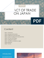 impact of trade on japan
