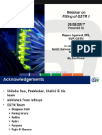 GSTR 1 - Presentation by GSTN - 30 August 2017