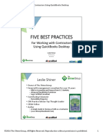 Best Pracices for Working With Contractors Using Quickbooks Desktop Leslie Shiner