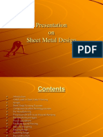 Presentation SheetMetalDesign