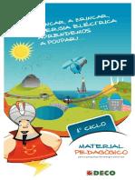 Brigadas Carbono - Guião Professores 1ºCiclo - Poupar Energia