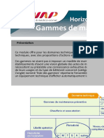 2-Gammes de Maintenance Preventive