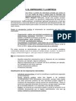 Tema 4 - El Empresario y La Empresa