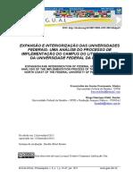 Análise Campus Paraíba