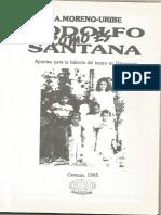Rodolfo Como Es Santana- E.a. Moreno-Uribe