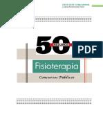 50 Resumos de Fisioterapia