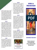 Novena Virgen Desatanudos Completo