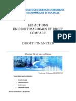 les actions en droit marocain
