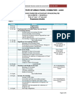 TNIUS Programme Schedule Refresher Training for Accountants