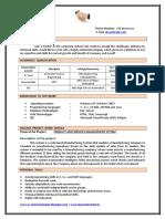 Example of CV Templates
