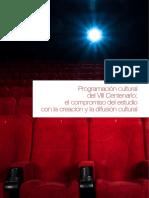 Programación Cultural VIII Centenario ENE2018