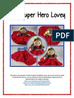 JJ Superhero Lovey