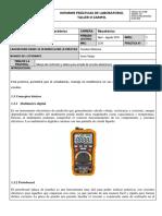 N.1 Guia Para Manejo Del Multimetro y Protoboard