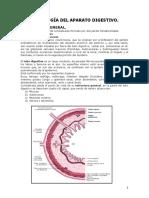 Histología Guía Unidad III - Aparato Digestivo