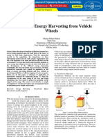 Piezoelectric Energy Harvesting From Vehicle Wheels IJERTV4IS050016