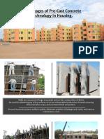Precast Construction Advantages