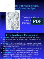 PHILOSOPHIES IN PE ADMINISTRATION