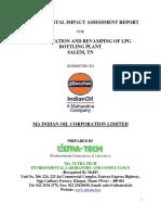 EIA Report Augmentation and Revamping of LPGBP Salem TN