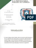Fases del proceso administrativo.