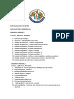 Especializaciones de La Unt Enfermeria Cayetano