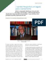 homenagem professor Ivanildo Hespanhol