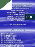 Plan Nacional de Cti 2006-2021