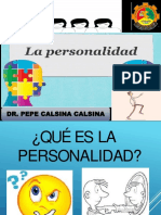 La Personalidad y Sus Factores Tercer Tema