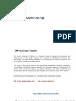 IIM Membership Upload