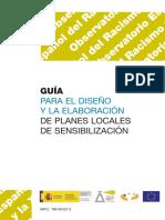 GUÍA PARA EL DISEÑO Y LA ELABORACIÓN DE PLANES LOCALES DE SENSIBILIZACIÓN