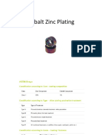 Cobalt Zinc Plating