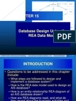Chapter 15 Database Design Using the REA Data Model
