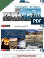 14 La Electromovilidad en El Perú y La NAMA - MINEM