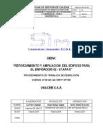 QA QC SIM P OP 002 Procedimiento de Trabajos de Demolición