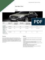 Mbc Maybach S-class PDF View