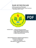 Laporan Kunjungan Teknik Penyehatan Pt. Palyja