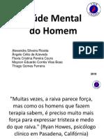 Saúde Mental do Homem