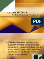 ABUSO SEXUAL-Robledo Francisco