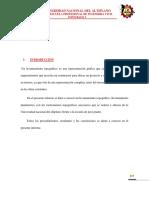 INFORME DE LEVANTAMIENTO CON CINTA MÉTRICA-TOPOGRAFÍA