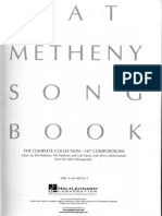 Pat Metheny Song Book