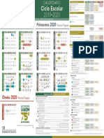 Calendario Escolar UAEMex 2019 2020