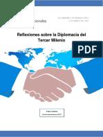 Reflexiones Sobre La Diplomacia Del Tercer Milenio Definitivo