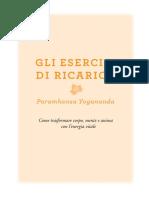 Booklet Esercizi Ricarica Yogananda