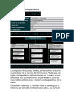 Presentación Psicología médica