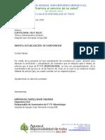 Acta de Actualizacion de Inventarios