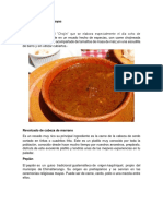 Gastronomía de Samayac